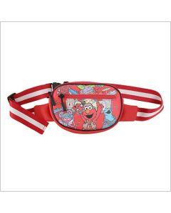 Sesame Street Rock Waist Bag Red