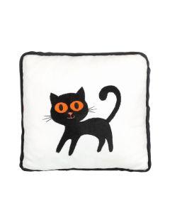 Halloween Black Cat Pillow