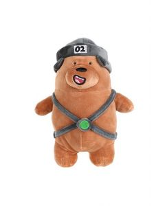 We Bare Bears Grizzly In Hat Plush Toy