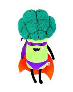 Broccoli Superhero Plush Toy