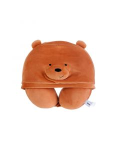 We Bare Bears Grizzly U-Pillow With Hood