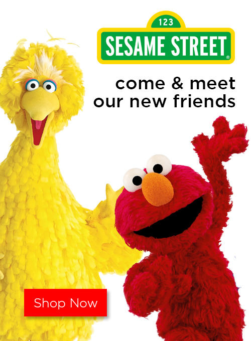 New exclusive Sesame Street now at Miniso