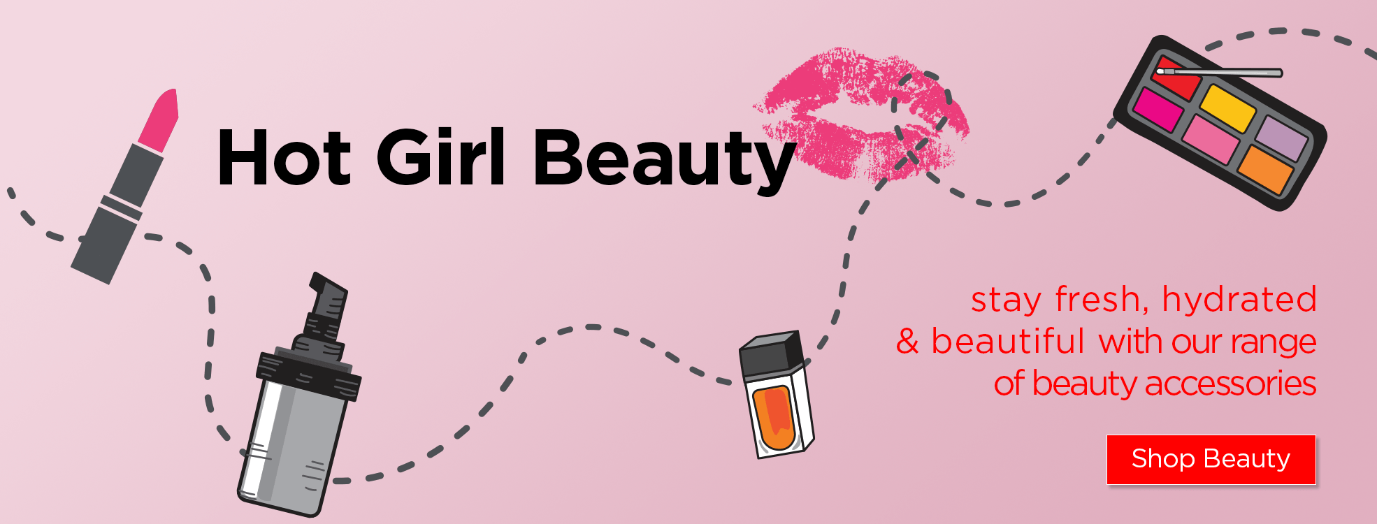 Hot Girl Beaty - beauty accessories