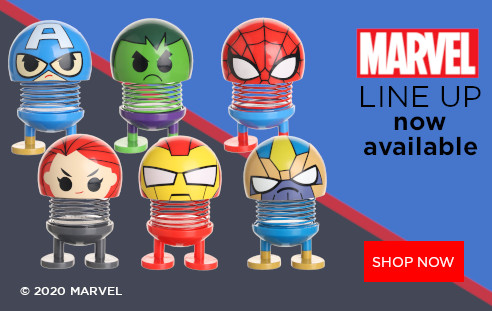 Marvel line up available at Miniso