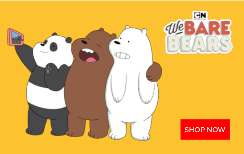 the we bare bears at minisoshop.co.uk
