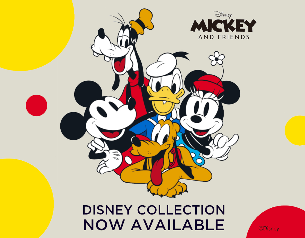 Disney collection available at minisoshop.co.uk